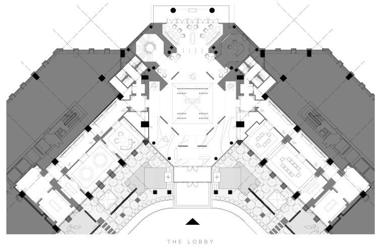 [北京]Yabu-梵·悦108超级豪宅室内装修施工图+软装方案+报价清单+高清实景图
