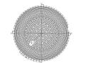 正放四角锥球壳网架结构施工图(CAD、14张)