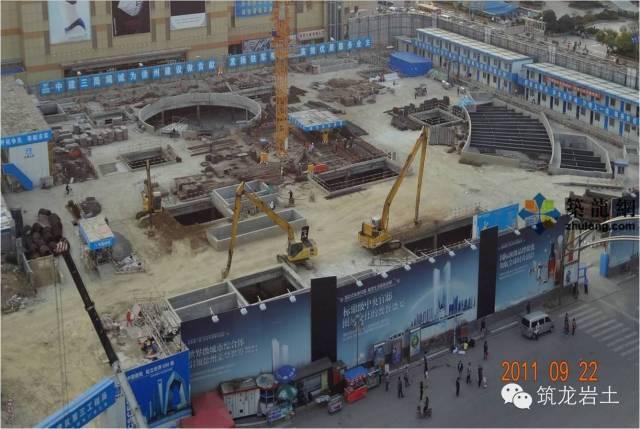 工程实录 | 超深基坑逆作法施工土方开挖