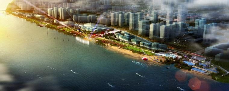滨江新城西岸商业旅游景观带,长沙/怡境