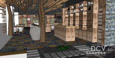 西安主题餐厅设计-大厨小馆特色餐厅徐家湾店_3