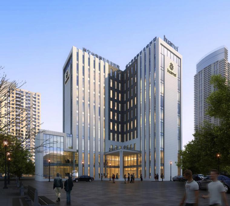 (原创)医院建筑外观设计案例效果图