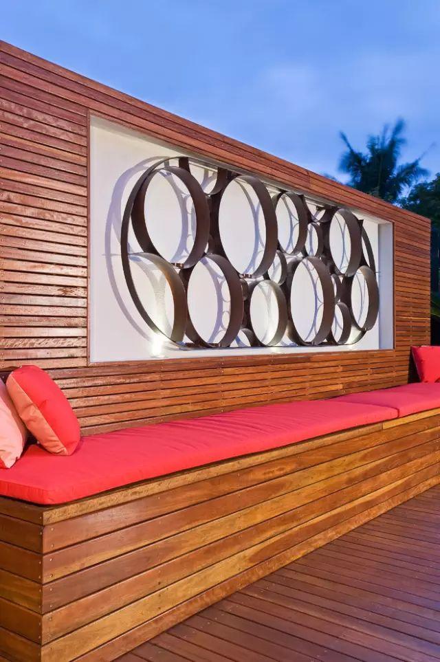 赶紧收藏!21个最美现代风格庭院设计案例_87