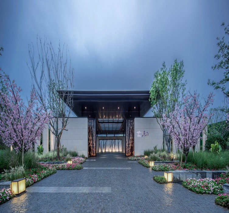 南京新城住宅新中式住宅景观-1 (9)