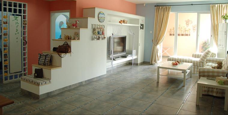 小河马的精灵乐园二居室实景图-实景图1