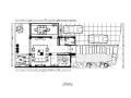 [福建]建欧现代风格别墅设计CAD施工图(含效果图)