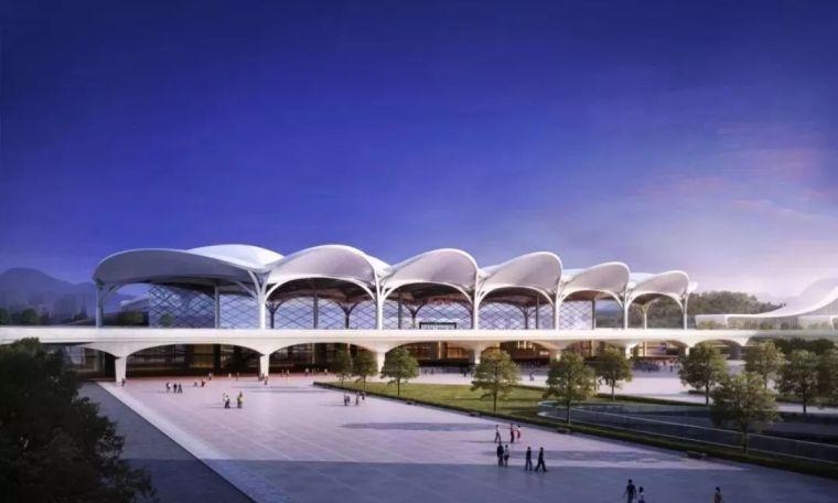 结构单元体与空间塑造,从国内几个高铁站的设计说起_14