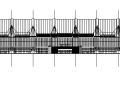 3套現代風格展覽館會展中心建筑施工圖