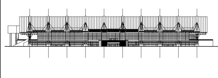 3套现代风格展览馆会展中心建筑施工图