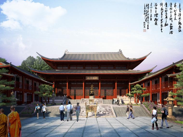 日式禅宗庭园结合禅宗美学设计案例——永福寺_9