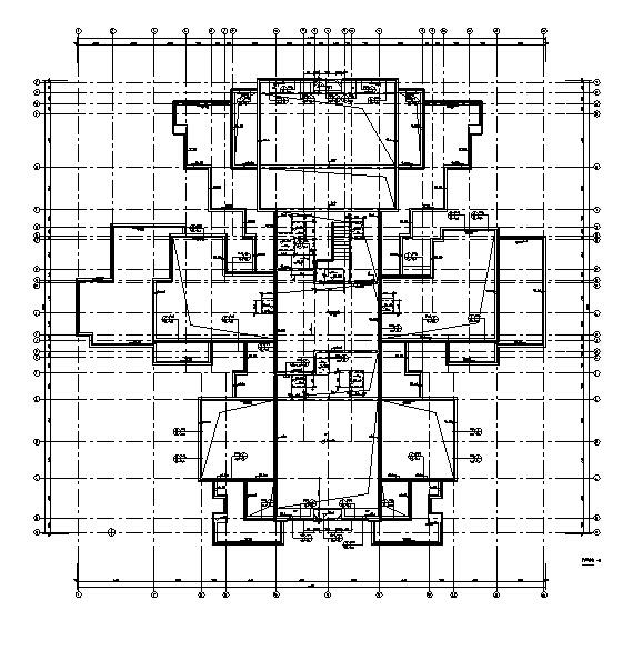 [四川]绿地29栋超高层住宅及地下室建筑施工图(正式全专业)_8
