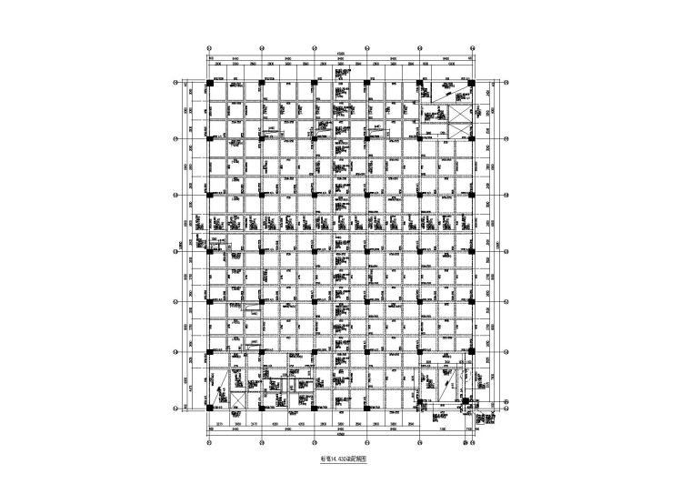 [北京]生产试验楼项目之框架结构生产车间全套施工图(建筑结构水暖电)