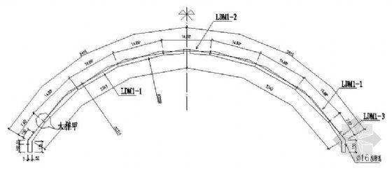 某水电站拱坝廊道模板和支撑设计