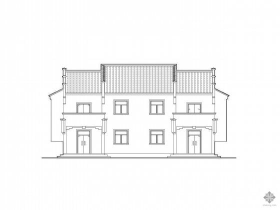 [新农村]两套二层住宅方案图(带效果图)
