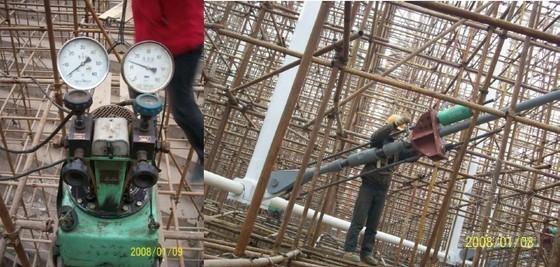 大跨度弦支穹顶结构施工方案比较与分析(图)