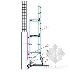 某大厦核芯筒爬模架及外檐爬架施工方案
