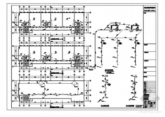 某县三层幼儿园教学楼给排水施工图