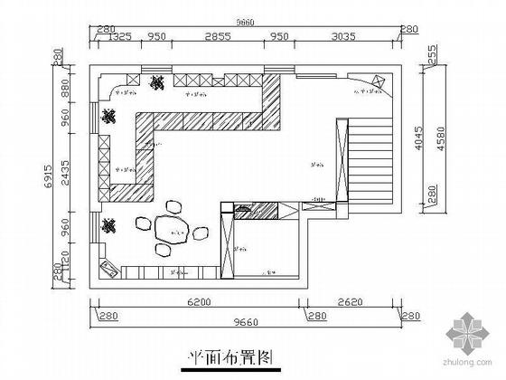 [杭州]某中式展厅装修图
