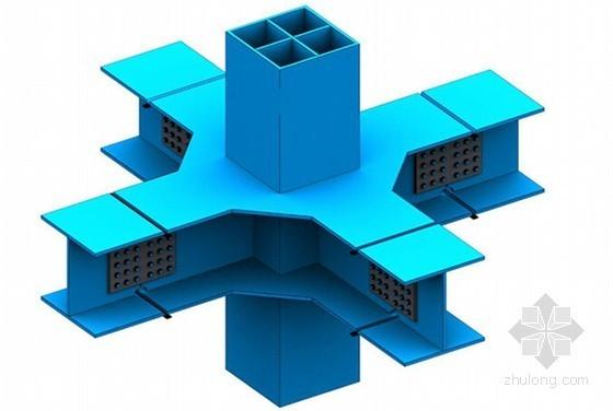 钢筋混凝土混合框架结构办公楼钢结构工程施工组织设计(附钢结构施工流程图)