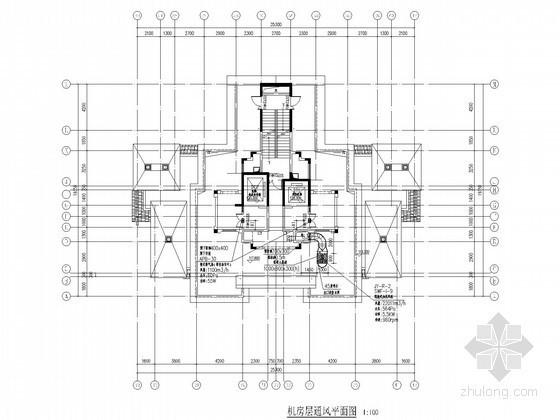 [合肥]超高层住宅楼通风防排烟设计施工图(甲院出品)