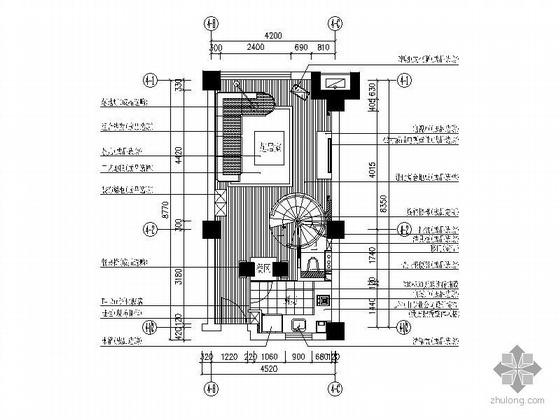 [杭州]某单身公寓施工图(含效果)