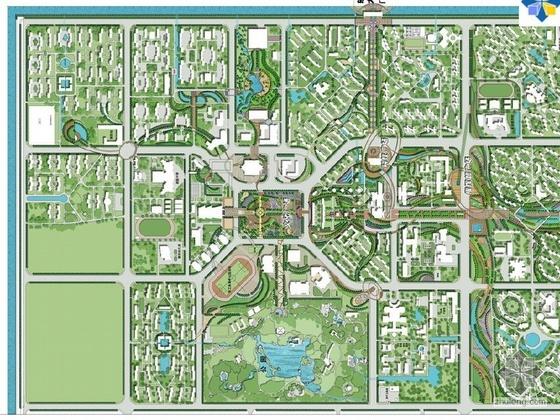 工厂基地景观方案设计