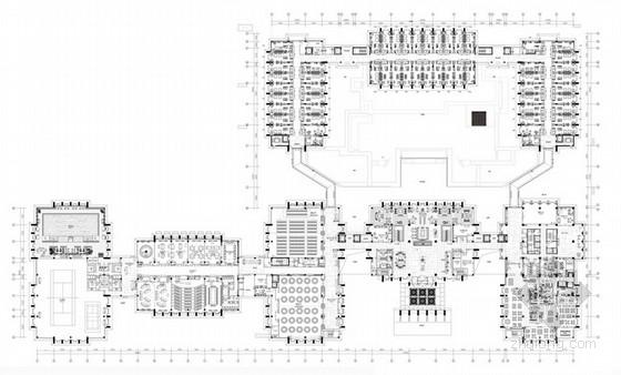[北京]现代简约酒店设计整套方案含效果图