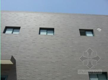 建筑工程外墙外保温瓷砖裂缝脱落原因及处理措施