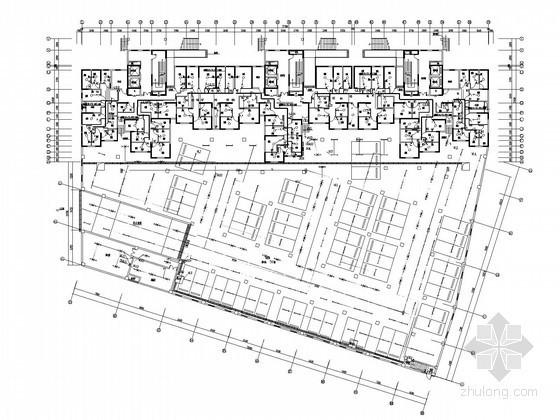 [江苏]32层商业综合楼强弱电系统施工图(地下两层 大样)
