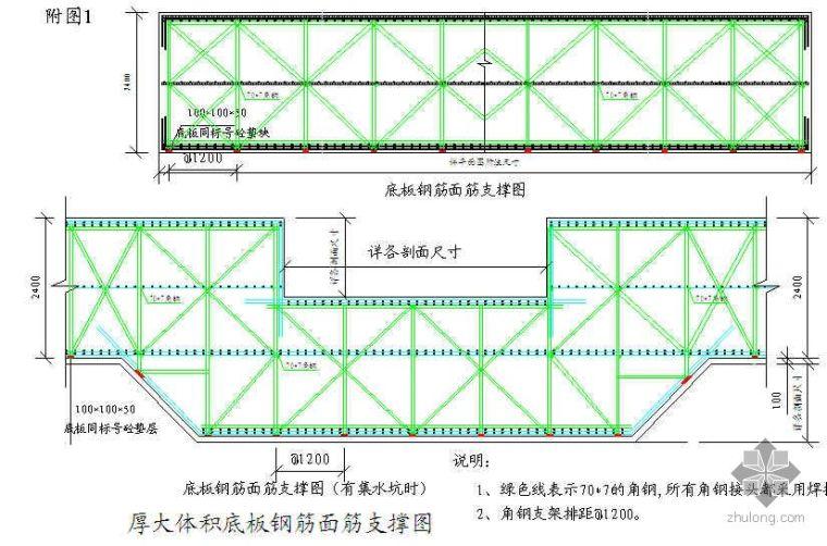 武汉某高层办公楼大体积混凝土施工方案(鲁班奖)