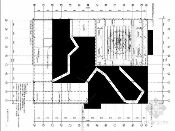 [天津]218米超高层广场强弱电施工图纸(超多安装大样 知名院)