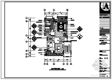 海南某别墅复式楼室内设计