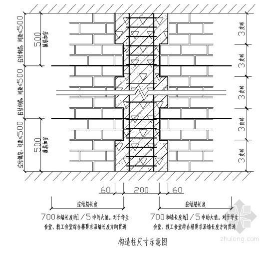 页岩保温空心砖砌筑工程施工方案(施工工艺图全面)