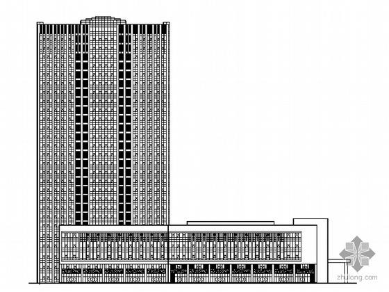 [嘉兴市秀洲区]某二十七层大厦建筑施工图(带人防工程)