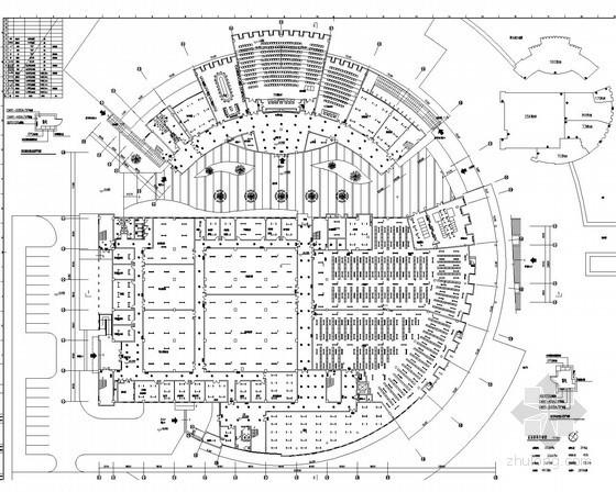 [江苏]大型图书馆电气施工图纸