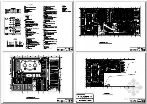 北京洗浴中心地暖项目施工图纸