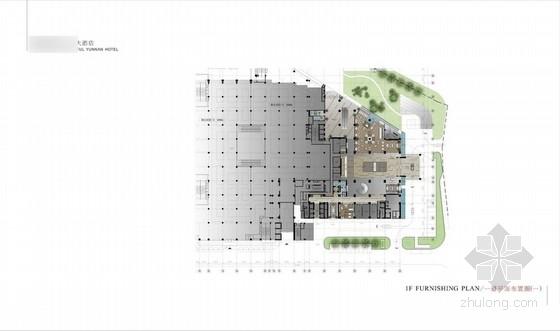[云南]某奢华大酒店室内设计方案图