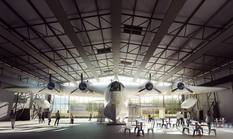 英国皇家空军庆祝成立 100 年,它们还重建了一个博物馆