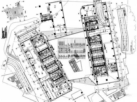 [深圳]34万平超高层知名集团总部全套电气施工图纸380张(两栋超高层及计算书)