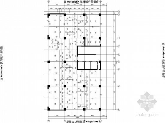 原建筑增加钢结构夹层施工图