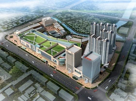 [江苏]知名商业广场施工生产情况汇报总结