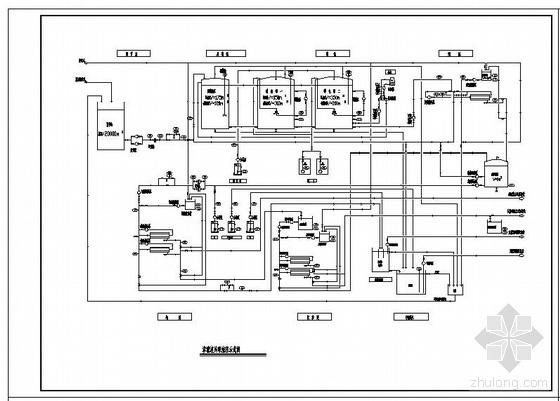 山东某垃圾渗滤液处理MBR工艺全套图