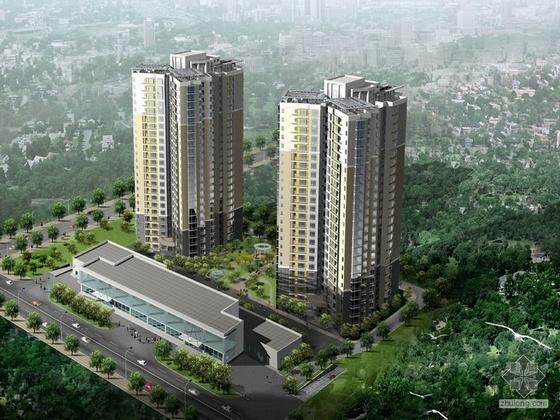 [北京]公安部丰台某住宅小区方案设计文本