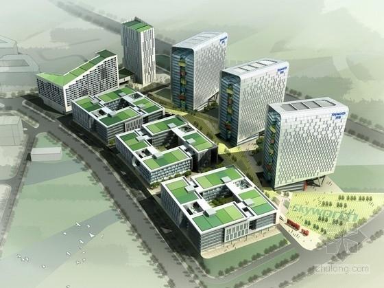 平面厂房规划规划文本资料下载-[广东]绿色生态知名企业工业园区规划设计方案文本