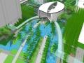 [上海]绿意时尚商业区景观总体概念设计方案(著名地产)