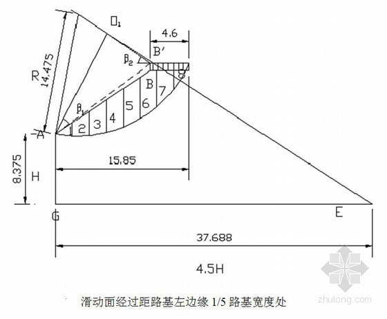[学士]一级公路工程毕业设计书(路面 路基排水)