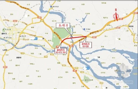 [福建]含变截面连续梁桥互通立交箱涵机耕桥通道5km公路工程设计图纸1629张