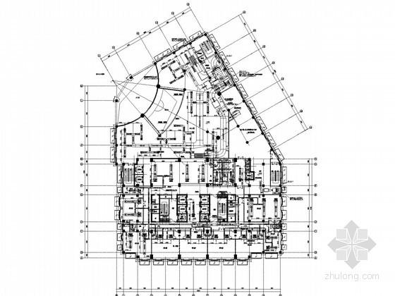 [合肥]五星级图纸暖通空调施工宾馆设计图纸(锅设计管道取暖全套图片