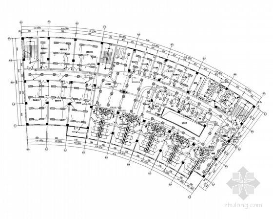 [南京]智能化综合福利院全套电气施工图纸260张(含8栋建筑)