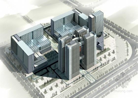 [河南]中原特色高层城市综合体建筑设计方案文本